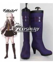 Dangan Ronpa Kyoko Kirigiri Purple Cosplay Boots