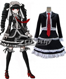 Dangan Ronpa Celestia Ludenberg Dress Cosplay Costume