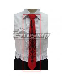 Dangan Ronpa Celestia Ludenberg Tie Headwear and Stockings Cosplay Accessory Prop