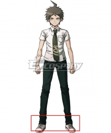 Danganronpa 2: Goodbye Despair Hajime Hinata White Cosplay Shoes