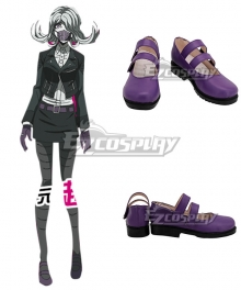 Danganronpa 3 Dangan Ronpa The End of Hope's Peak High School Future Arc Seiko Kimura Purple Cosplay Shoes