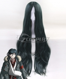 Danganronpa Another Episode: Ultra Despair Girls Haiji Towa Blue Green Cosplay Wig