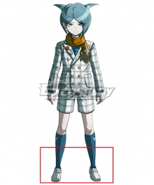 Danganronpa Another Episode: Ultra Despair Girls Shingetsu Nagisa White Cosplay Shoes