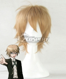 Danganronpa: Trigger Happy Havoc Byakuya Togami Golden Cosplay Wig