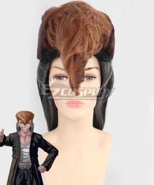 Danganronpa: Trigger Happy Havoc Mondo Owada Black Brown Cosplay Wig