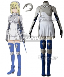 DanMachi Familia Myth Is It Wrong To Try To Pick Up Girls In A Dungeon Danjon Ni Deai O Motomeru No Wa Machigatteiru Daro Ka Aiz Wallenstein Cosplay Costume