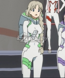 Darling In The Franxx Kokoro Code 556 Battle Suit Cosplay Costume - Only Jumpsuit