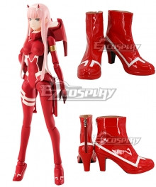 DARLING in the FRANXX ZERO TWO CODE:002 Red Shoes Cosplay Boots