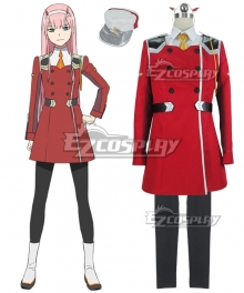 Darling In The Franxx Zero Two Code 002 Cosplay Costume - B Edition