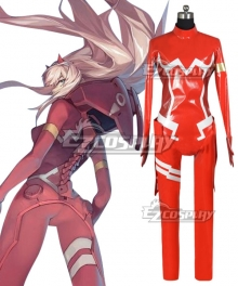 Darling in the Franxx Zero Two Code 002 Cosplay Costume - Only Jumpsuit