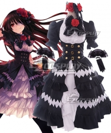Date A Live Ⅲ Tokisaki Kurumi Nightmare Cosplay Costume