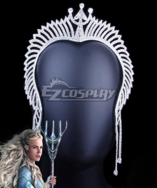 DC Aquaman 2018 Movie Atlanna Crown Headwear Cosplay Accessory Prop
