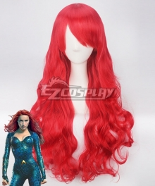 DC Aquaman 2018 Movie Mera Red Cosplay Wig