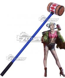 DC Birds of Prey Harley Quinn Hammer Cosplay Weapon Prop