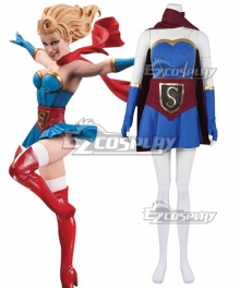 DC Bombshell Supergirl Cosplay Costume