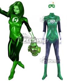 DC Comic Green Lantern Female Super Hero Cosplay Costume