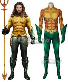 DC Comics 2018 Movie Aquaman Arthur Curry Cosplay Costume