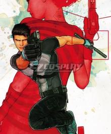 DC Comics Agent 37 Richard Grayson Two Sticks Cosplay Weapon Prop