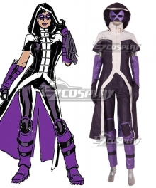 DC Comics Nightwing Rebirth Huntress Cosplay Costume