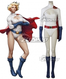 DC Comics Power Girl Kara Zor-L Karen Starr Cosplay Costume
