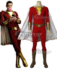 DC Comics Shazam! Billy Batson Cosplay Costume