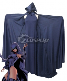 DC Comics Teen Titans Raven Cosplay Costume