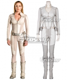 DC Legends Of Tomorrow White Canary Sara Lance Cosplay Costume
