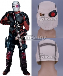 DC Suicide Squad Deadshot Halloween Mask Cosplay Accessory Prop