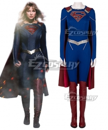DC Supergirl Season 5 Kara Danvers Cosplay Costume B Edition