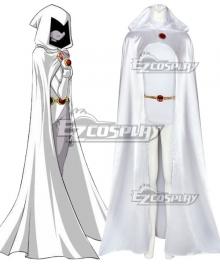 DC Teen Titans White Raven Cosplay Costume