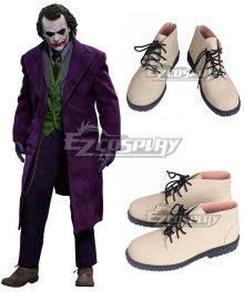 DC The Dark Knight Batman Joker Brown Cosplay Shoes