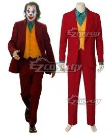DC The Joker Teaser Trailer Joker Cosplay Costume