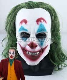 DC The Joker Teaser Trailer Joker Mask Cosplay Accessory Prop