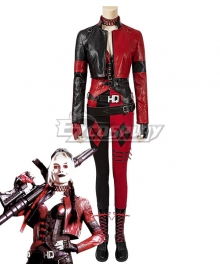 DC The Suicide Squad 2 Harley Quinn Cosplay Costume