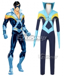 DC Young Justice Nightwing Dick Grayson Cosplay Costume