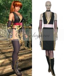 Dead or Alive Kasumi Black Cosplay Costume