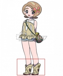 Death March Club Pai Brown Cosplay Shoes