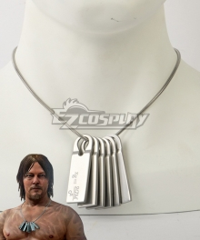 Death Stranding Sam Porter Bridges Necklace Cosplay Accessory Prop