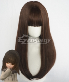 DEEMO Reborn Alice Little Girl Brown Cosplay Wig