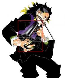 Demon Slayer: Kimetsu No Yaiba Genya Shinazugawa Gun Cosplay Weapon Prop