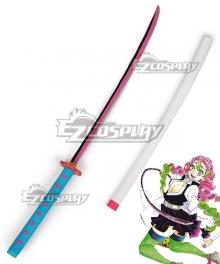 Demon Slayer: Kimetsu No Yaiba Kanroji Mitsuri Sword Cosplay Weapon Prop