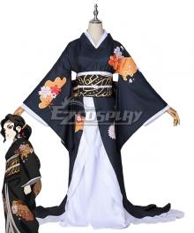 Demon Slayer: Kimetsu no Yaiba Kibutsuji Muzan Female Kimono Cosplay Costume