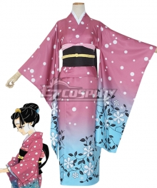 Demon Slayer: Kimetsu No Yaiba Koyuki Cosplay Costume