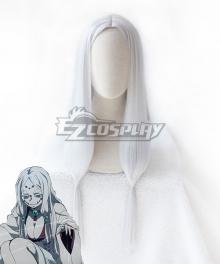 Demon Slayer: Kimetsu No Yaiba Mother Spider Demon Silver Grey Cosplay Wig