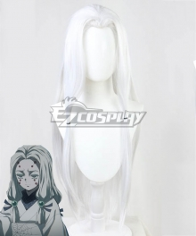 Demon Slayer: Kimetsu No Yaiba Older Sister Spider White Cosplay Wig