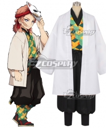 Demon Slayer: Kimetsu no Yaiba Sabito Cosplay Costume