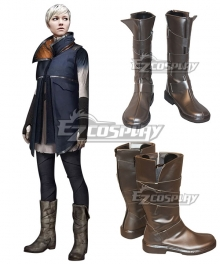 Detroit: Become Human Kara Grey Shoes Cosplay Boots