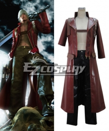 Devil may Cry 3 Dante Cosplay Costume - Final Version