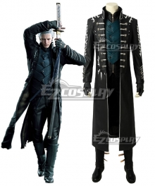 Devil May Cry 5 DMC5 Vergil Cosplay Costume