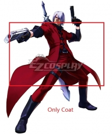 Devil May Cry Anime Dante Cosplay Costume -  Only Coat